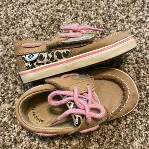 Pink Cheetah Sparkle Velcro Sherry's